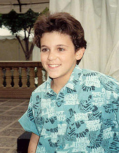 Fred Savage Realizing That He Can Do The Report On Dinosaurs